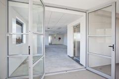 Κενό άσπρο δωμάτιο Στοκ εικόνες με δικαίωμα ελεύθερης χρήσης