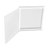 Κενό άσπρο κιβώτιο Στοκ φωτογραφία με δικαίωμα ελεύθερης χρήσης