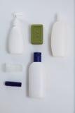 Κενό άσπρο σύνολο προτύπων σχεδίου προτύπων σωλήνων Στοκ Φωτογραφία