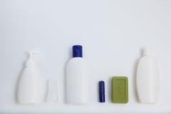 Κενό άσπρο σύνολο προτύπων σχεδίου προτύπων σωλήνων Στοκ Εικόνα