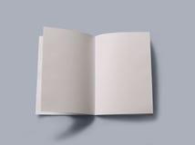 Κενό ανοικτό βιβλίο Στοκ φωτογραφία με δικαίωμα ελεύθερης χρήσης
