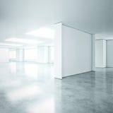 Κενό ανοικτό γραφείο σχεδίων Στοκ εικόνα με δικαίωμα ελεύθερης χρήσης