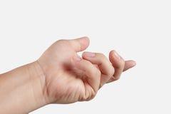 Κενό ανοικτό χέρι ατόμων στοκ φωτογραφίες με δικαίωμα ελεύθερης χρήσης