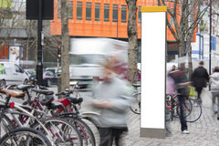 κενό απασχολημένο σημάδι πό& Στοκ Φωτογραφίες