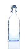κενό απομονωμένο λευκό ύδατος μπουκαλιών Στοκ φωτογραφία με δικαίωμα ελεύθερης χρήσης