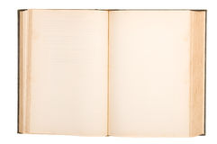 κενό βιβλίο παλαιό Στοκ φωτογραφίες με δικαίωμα ελεύθερης χρήσης