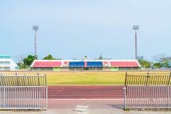 κενό γήπεδο ποδοσφαίρου στοκ εικόνες