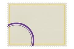 κενό γραμματόσημο Στοκ φωτογραφίες με δικαίωμα ελεύθερης χρήσης