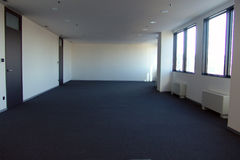 Κενό γραφείο κατά τη διάρκεια της κρίσης Στοκ Εικόνα
