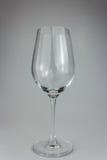 Κενό γυαλί κρασιού Στοκ Εικόνες