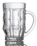 κενό γυαλί μπύρας Στοκ φωτογραφία με δικαίωμα ελεύθερης χρήσης