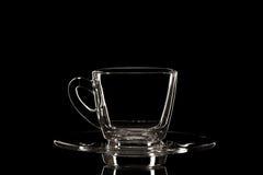 Κενό γυαλί στοκ φωτογραφία με δικαίωμα ελεύθερης χρήσης
