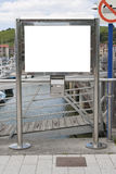 κενό δελτίο χαρτονιών Στοκ φωτογραφία με δικαίωμα ελεύθερης χρήσης