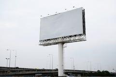 Κενό διαστημικό υπόβαθρο πινάκων διαφημίσεων για τη διαφήμιση στοκ φωτογραφίες