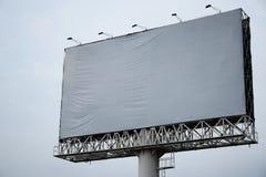 Κενό διαστημικό υπόβαθρο πινάκων διαφημίσεων για τη διαφήμιση στοκ εικόνες