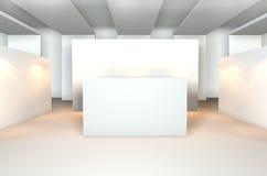 κενό δωμάτιο στοών Στοκ εικόνες με δικαίωμα ελεύθερης χρήσης
