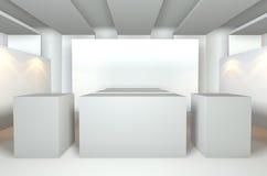 κενό δωμάτιο στοών Στοκ εικόνα με δικαίωμα ελεύθερης χρήσης