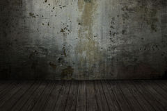 κενό δωμάτιο grunge στοκ φωτογραφία με δικαίωμα ελεύθερης χρήσης