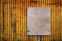 κενό ελεύθερο βρώμικο διάστημα σημαδιών αντιγράφων Στοκ εικόνα με δικαίωμα ελεύθερης χρήσης
