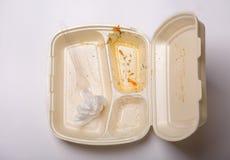 Κενό εξαγωγέα κιβώτιο τροφίμων Στοκ φωτογραφία με δικαίωμα ελεύθερης χρήσης