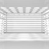 κενό εσωτερικό λευκό Στοκ Φωτογραφίες