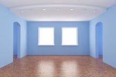 κενό εσωτερικό νέο δωμάτι&omicr Στοκ Φωτογραφία