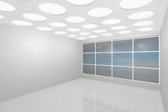 κενό εσωτερικό νέο δωμάτι&omicr Στοκ Εικόνες