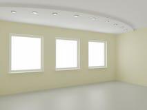 κενό εσωτερικό νέο κατοι&k Στοκ εικόνες με δικαίωμα ελεύθερης χρήσης