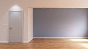 Κενό εσωτερικό δωμάτιο χωρίς έπιπλα στοκ εικόνα με δικαίωμα ελεύθερης χρήσης