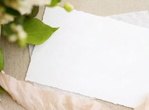 κενό λευκό εγγράφου στοκ φωτογραφία με δικαίωμα ελεύθερης χρήσης