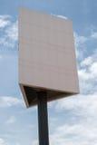 κενό λευκό πινάκων διαφημί&sig Στοκ εικόνα με δικαίωμα ελεύθερης χρήσης