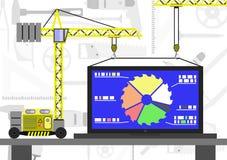 Κενό εφαρμοσμένης μηχανικής Infographic Στοκ εικόνα με δικαίωμα ελεύθερης χρήσης