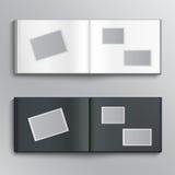 Κενό λεύκωμα φωτογραφιών Στοκ εικόνα με δικαίωμα ελεύθερης χρήσης