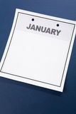 κενό ημερολόγιο Στοκ φωτογραφίες με δικαίωμα ελεύθερης χρήσης