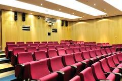 Κενό θέατρο διάλεξης Στοκ Φωτογραφίες