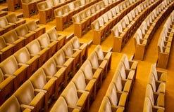 Κενό θέατρο - εικόνα αποθεμάτων Στοκ Εικόνες