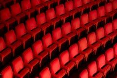 κενό θέατρο εδρών Στοκ εικόνα με δικαίωμα ελεύθερης χρήσης