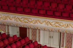 κενό θέατρο εδρών Στοκ φωτογραφίες με δικαίωμα ελεύθερης χρήσης