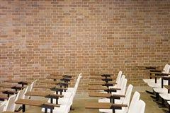 Κενό θέατρο διάλεξης Στοκ εικόνα με δικαίωμα ελεύθερης χρήσης