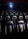Κενό θέατρο κινηματογράφων Στοκ Εικόνες