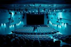 Κενό θέατρο Στοκ Εικόνες