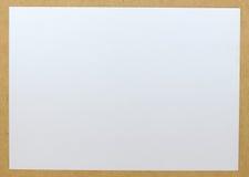 κενό διάνυσμα φύλλων εγγράφου απεικόνισης Στοκ Φωτογραφία