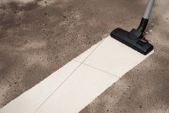 Κενό καθαρίζοντας πάτωμα στοκ φωτογραφία με δικαίωμα ελεύθερης χρήσης
