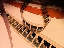 Κενό και βασίζομαι κάτω στην ταινία 1 Στοκ Εικόνες