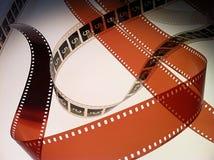 Κενό και βασίζομαι κάτω στην ταινία 3 Στοκ Εικόνες