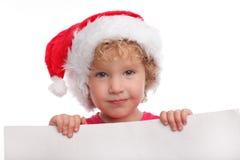 κενό καπέλο Χριστουγέννω&n Στοκ Εικόνα