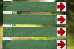 κενό κατευθυντικό σημάδι Στοκ εικόνες με δικαίωμα ελεύθερης χρήσης