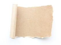 Κενό κενό ανακύκλωσης έγγραφο δακρυ'ων εγγράφου στοκ εικόνες με δικαίωμα ελεύθερης χρήσης
