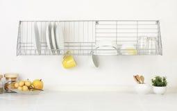 κενό κενό διάστημα κουζινώ& Στοκ Φωτογραφίες