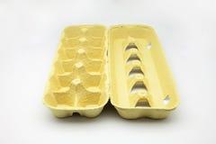 Κενό κιβώτιο αυγών Στοκ εικόνα με δικαίωμα ελεύθερης χρήσης